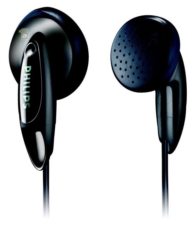Austiņas Philips SHE 1350/00 Black