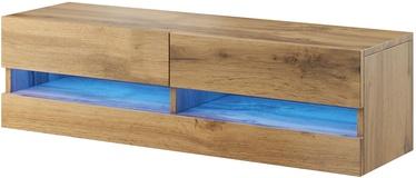 ТВ стол Cama Meble Vigo New 140, дубовый, 1400x300x1400 мм