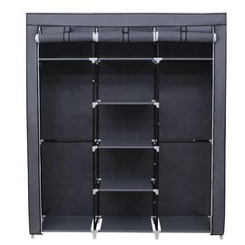 Songmics Wardrobe Grey 150x45x175cm