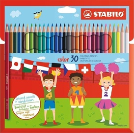 STABILO Карандаши цветные, Color, 30 цвета