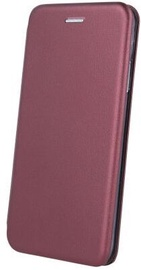 OEM Smart Diva Book Case For Xiaomi Redmi 9 Burgundy