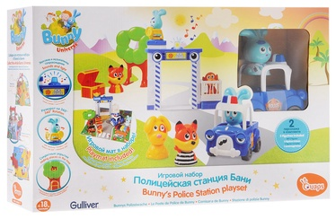 Interaktīva rotaļlieta Silverlit Bunny Univers Bunny's Police Station Playset 61148