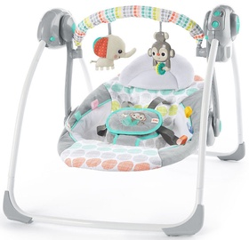 Bright Starts Portable Swing Whimsical Wild
