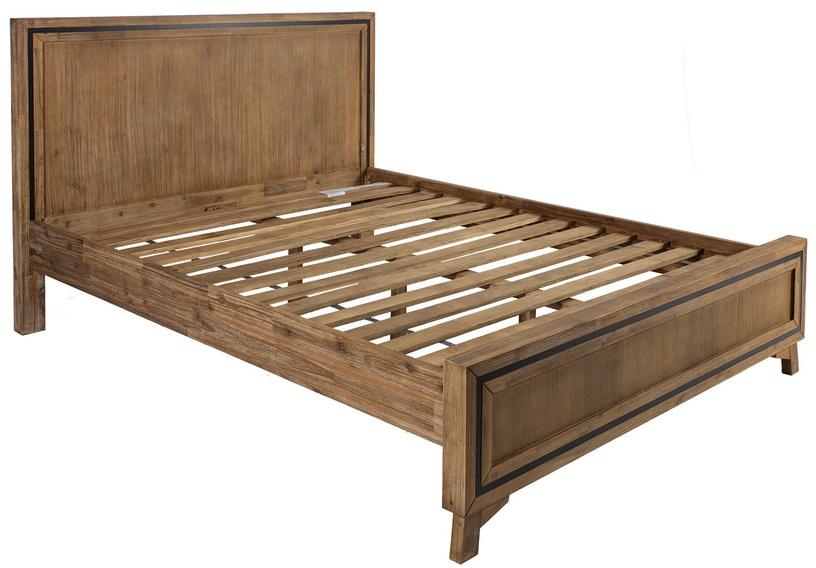 Кровать Home4you Richard Brown, 160 x 200 cm