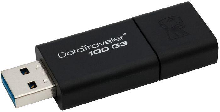 USB atmiņas kartes Kingston DT100G3, USB 3.0, 32 GB