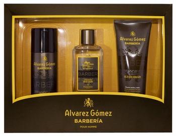 Komplekts vīriešiem Alvarez Gomez Agua de Colonia Concentrada Barberia 3pcs Set EDP 530 ml