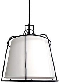 Light Prestige Dritto Ceiling Lamp 60W E27 Small White