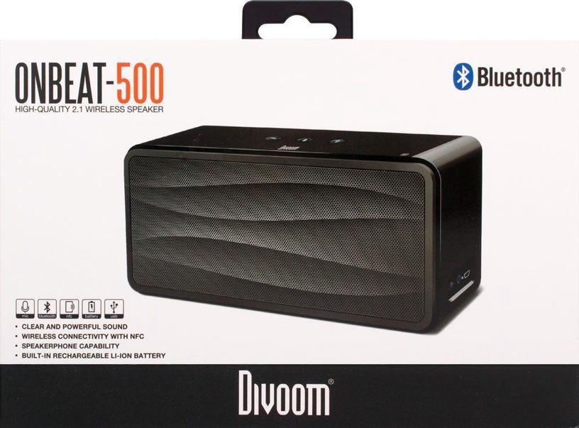 Беспроводной динамик Divoom Onbeat 500 2nd Gen Black, 20 Вт