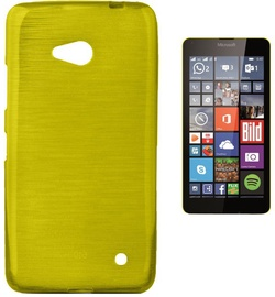 Forcell Jelly Brush Back Case For Microsoft 640 Lumia Green