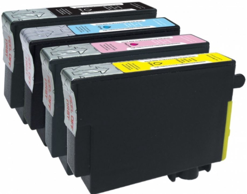 GenerInk Cartridge Black 7ml Cyan 4ml Magenta 4ml Yellow 4ml
