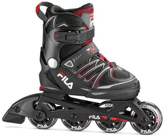 Skrituļslidas Fila X-One 010620140 Black/Red, 35-38