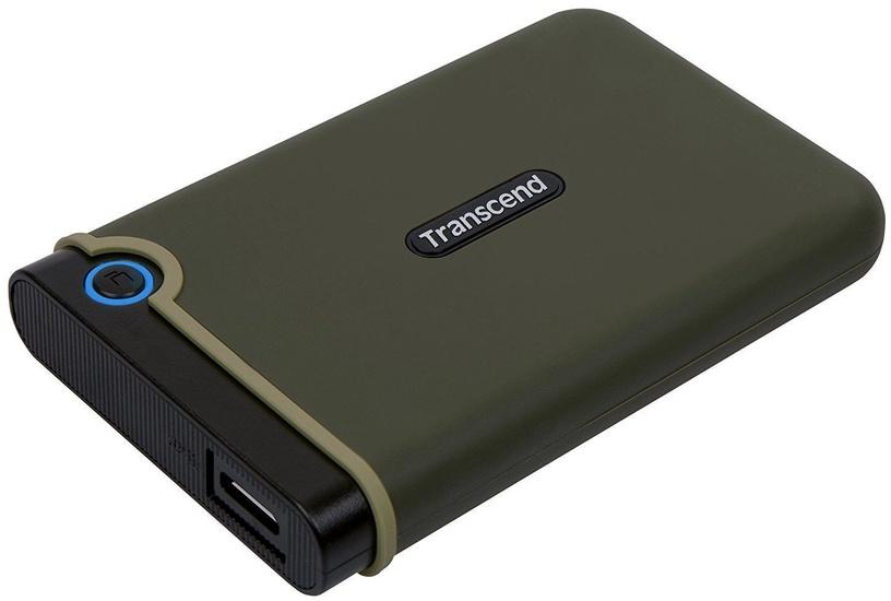 Cietais disks Transcend TS1TSJ25M3G, HDD, 1 TB, zaļa