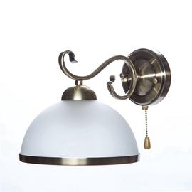 Domoletti Estera MB90746C/1 Wall Lamp 60W E27 White/Gold