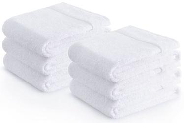 Полотенце Zender Cotton 43712, белый, 30x50 см, 6 шт.