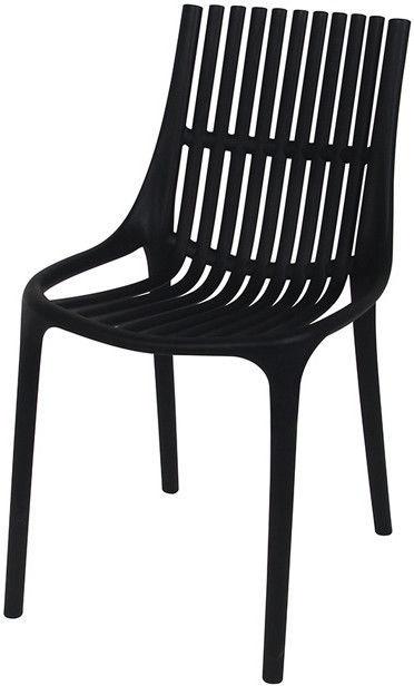 Стул для столовой Verners Roma 550x810x460mm Black