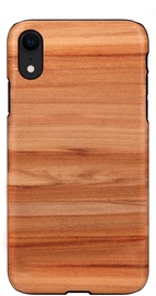 Man&Wood Cappuccino Back Case For Apple iPhone XR Brown