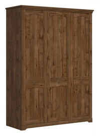 Skapis Black Red White Patras April Oak, 153x59x208 cm