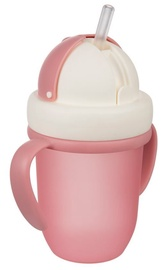 Бутылка Canpol Babies Cup With Straw 210ml Matt Pink 56/522