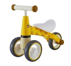 "Bērnu velosipēds EcoToys Mini Bicycle Walker Giraff 619, dzeltena, 5.5"""