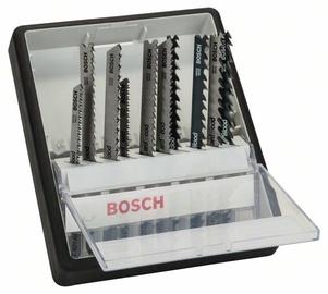 Zāģīšu komplekts Bosch Jigsaw Blade Set 10pcs