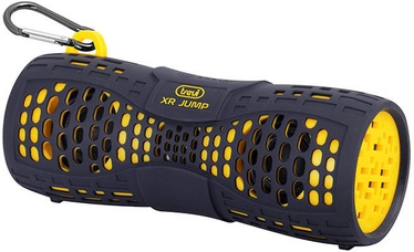 Беспроводной динамик Trevi XR 9A5, черный/желтый, 6 Вт