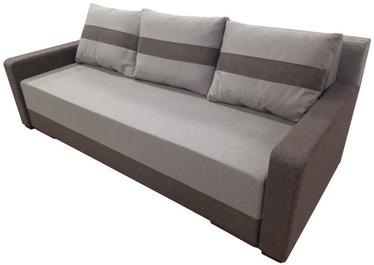 Диван-кровать MN Igor 2XL, коричневый, 94 x 227 x 82 см