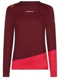 La Sportiva Woman Long Sleeve Top Dash Wine/Orchid S