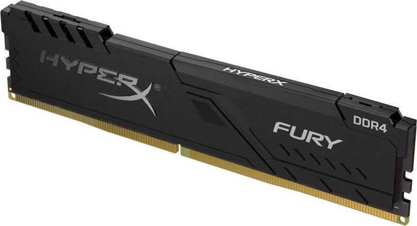 Operatīvā atmiņa (RAM) Kingston HyperX Fury Black HX426C16FB3/8 DDR4 8 GB CL16 2666 MHz