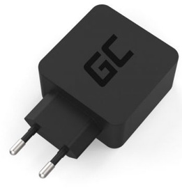Green Cell USB Type-C Wall Charger 18W Black