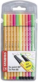 Stabilo Pen 68 & Point 88 Set 10pcs