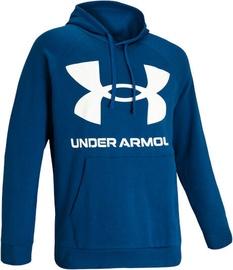 Under Armour Rival Fleece Big Logo Hoodie 1357093-581 Blue S