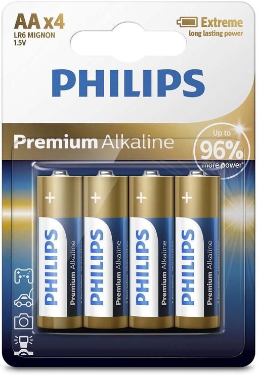 Philips Premium Alkaline LR6M4B/10