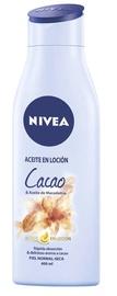 Ķermeņa losjons Nivea Oil In Lotion Cocoa & Macadamia Oil, 400 ml