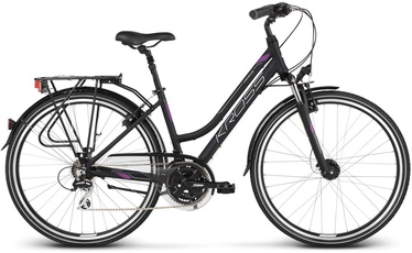 "Kross Trans 3.0 M 28"" Black Violet Silver Matte 20"
