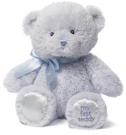 Gund My First Teddy Blue 25cm