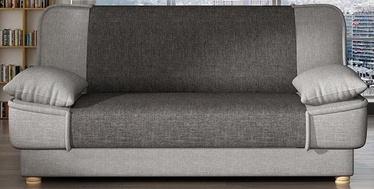Dīvāngulta Platan Maxim 01 Light Grey/Grey, 188 x 85 x 90 cm