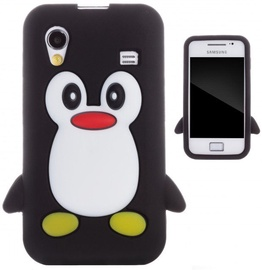 Zooky Soft 3D Cover Samsung S5830 Galaxy Ace Penguin Black