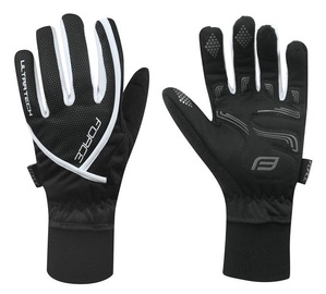 Force Ultra Tech Full Gloves White/Black XXL