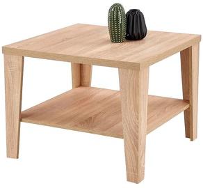 Kafijas galdiņš Halmar Manta Sonoma Oak, 700x700x470 mm