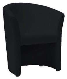 Atzveltnes krēsls Signal Meble TM 1 Black, 67x47x76 cm