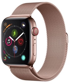 Devia Elegant Series Milanese Loop For Apple Watch 44mm Rose Gold
