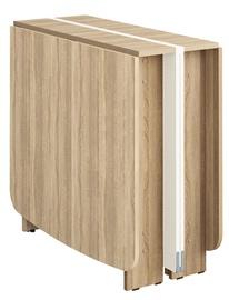Обеденный стол DaVita Kolibri 13 Sonoma Oak/Cream, 3000x800x750 мм
