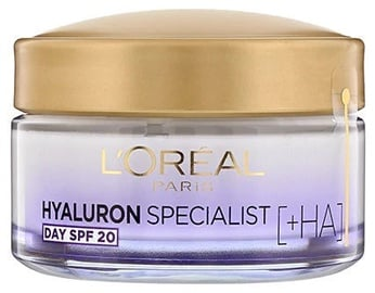 Sejas krēms L´Oreal Paris Hyaluron Specialist Day Cream SPF20, 50 ml