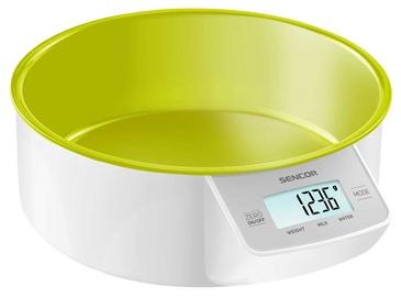 Электронные кухонные весы Sencor SKS 4004GR, зеленый