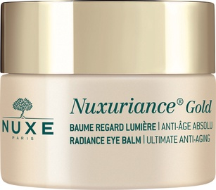 Acu krēms Nuxe Nuxuriance Gold Radiance Eye Balm, 15 ml