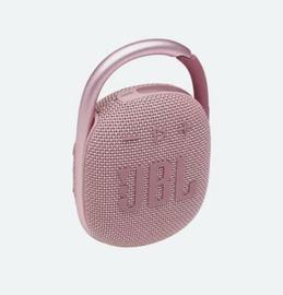 Bezvadu skaļrunis JBL JBL CLIP4 PINK, rozā, 5 W
