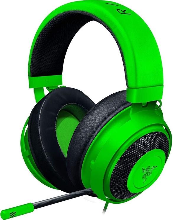 Spēļu austiņas Razer Kraken Green