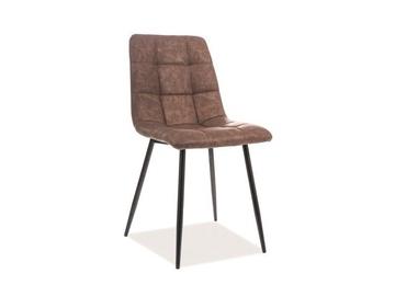 Ēdamistabas krēsls Signal Meble Look Brown, 1 gab.