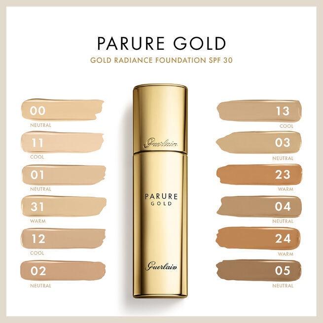 Tonizējošais krēms Guerlain Parure Gold 02 Light Beige G Light Beige G, 30 ml