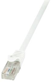 LogiLink CAT 6 U/UTP Cable White 10m